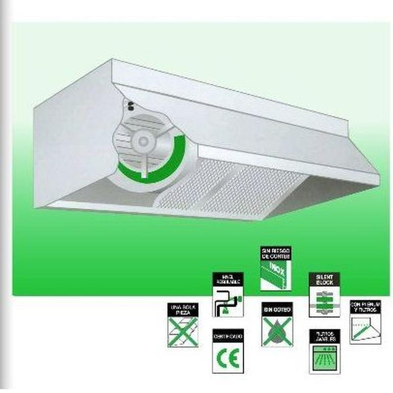 Campana con ventilador: CATÁLOGO de Filair