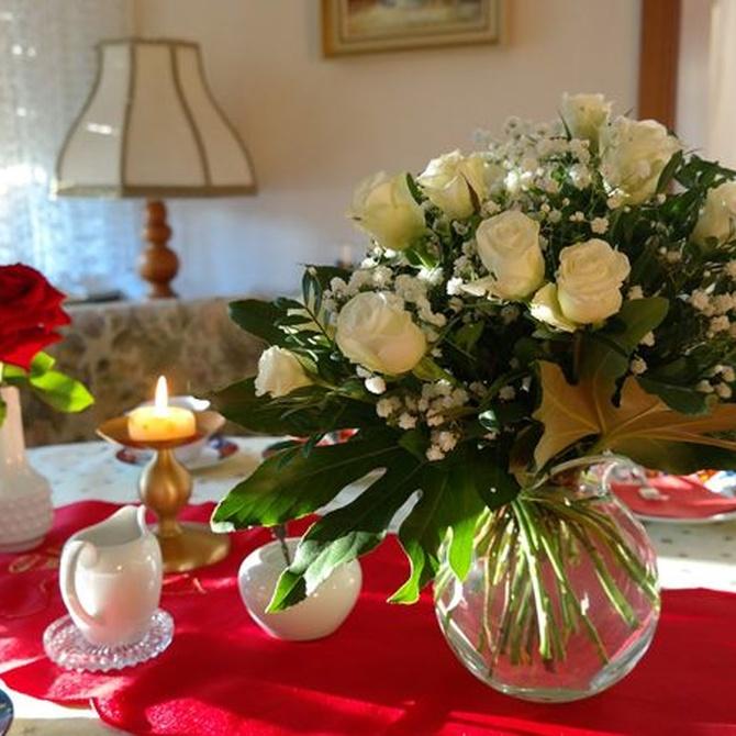 Cómo preparar un centro de flores