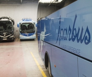 Autobuses en Guipúzcoa