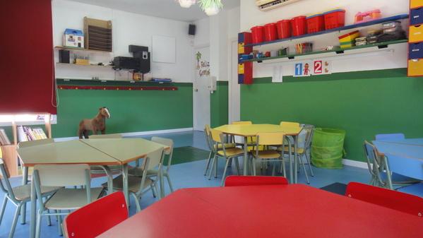 Aula para niños de 0 a 4 años