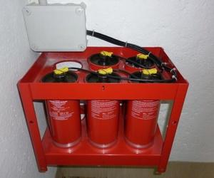 Extinción automática de incendios