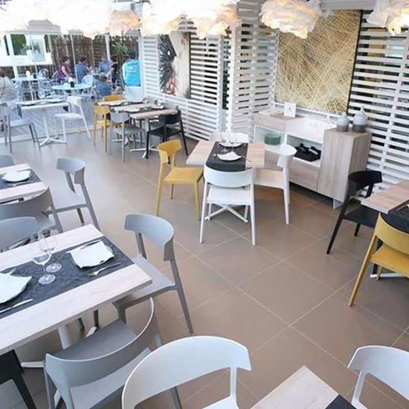 Mobiliario  Restaurantes y Cafeterías: Productos y Servicios de Balmes Sistemas