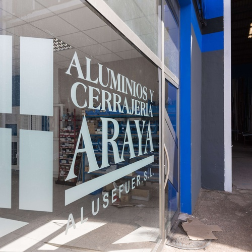 Aluminios Araya en Fuerteventura Tuineje Las Palmas