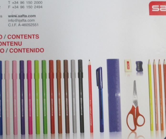 Estuche pinturas KIMMIDOLL NOEMI: Librería-Papelería. Artículos de Librería Intomar