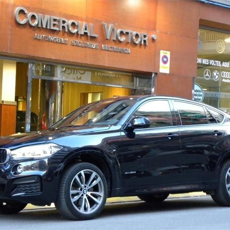 BMW X6 xDrive30d 5p.: Servicios de Comercial Víctor
