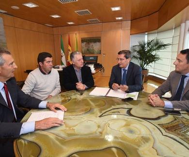 La Diputación refuerza la candidatura del acelerador de partículas y paga parcialmente los estudios