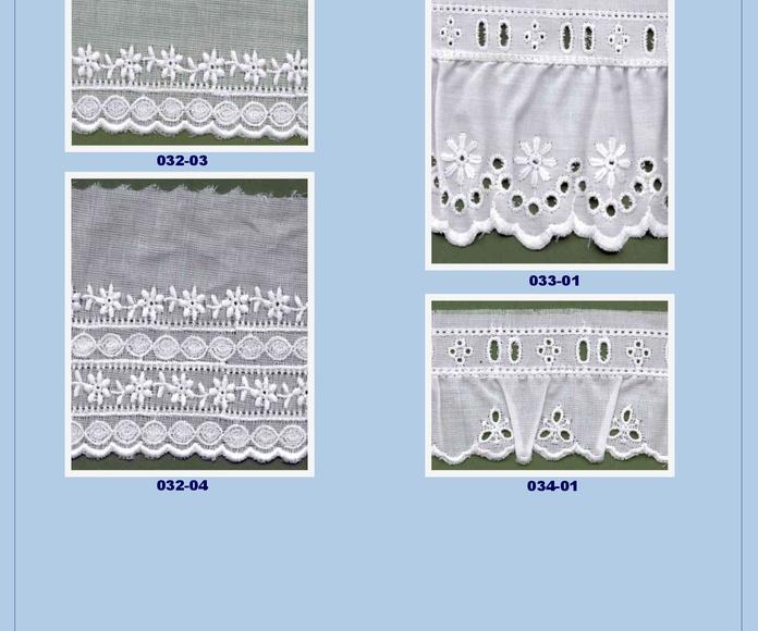 Tiras Bordadas: Catálogo de Punto & Costura