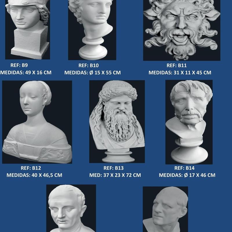 BUSTOS Y FIGURAS (FABRICACIÓN POR ENCARGO): Catálogo de I. De Escayolas Palomares