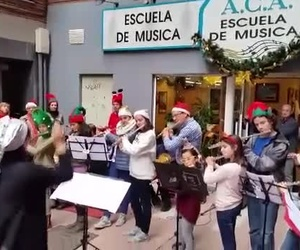 Navidades 2015. A.C.A. Escuela de musica Gijon