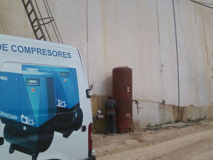 Retímbre e Inspecciones de calderínes: Productos y servicios de Sedel Aircomp Systems, S.L.