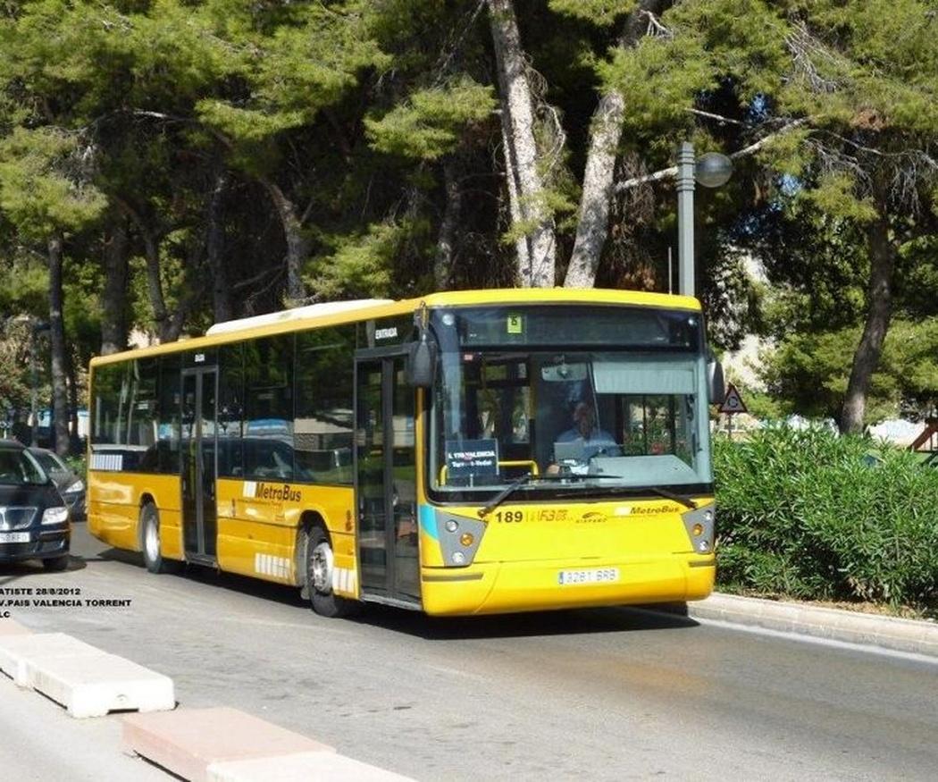 La primera línea de autobús cumple un siglo