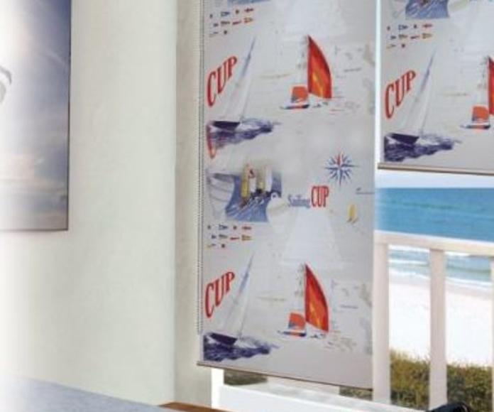 Cortinas enrrolables: Catálogo de Vaya Tela