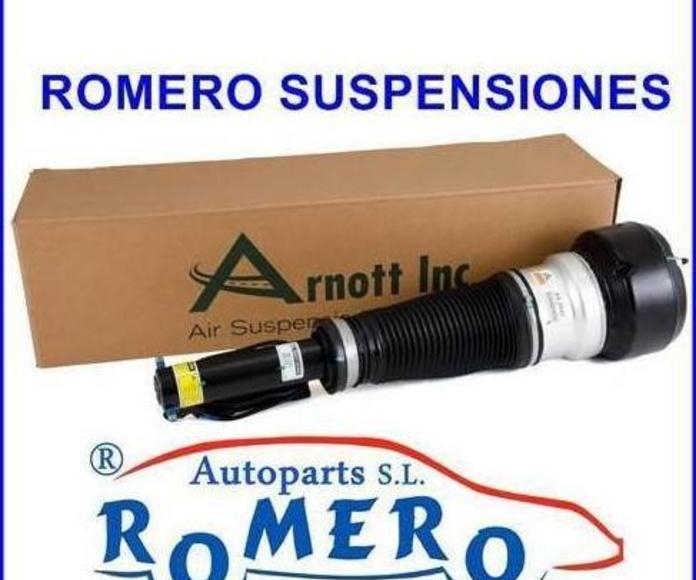 Amortiguador delantero Mercedes serie S W221 Remanufacturado: Suspensiones y vehículos de Romero Autoparts Zaragoza