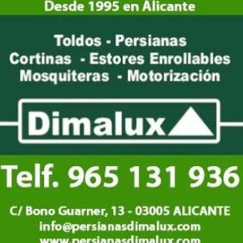 fabricación e instalación de persianas, toldos, cortinas y ventanas en Alicante