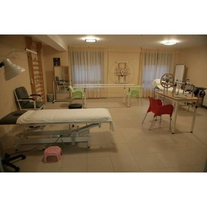 Fisioterapia y Rehabilitación: Servicios de Centro Geriátrico Talavera