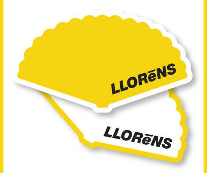Abanicos: Productos y Servicios de Imprenta Llorens