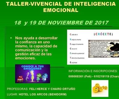 TALLER VIVENCIAL DE INTELIGENCIA EMOCIONAL