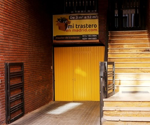 Alquiler de trasteros baratos en Madrid