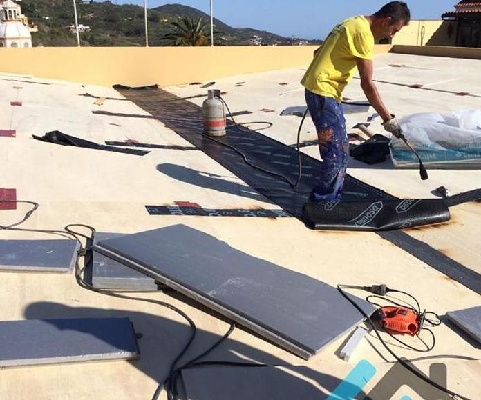 Imperamabilizacion de tejados Las Palmas