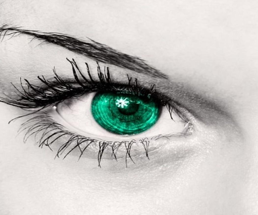 Las lentes de contacto de colores