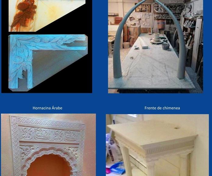 almacen ,exposicion.. y trabajos : Catálogo de I. De Escayolas Palomares