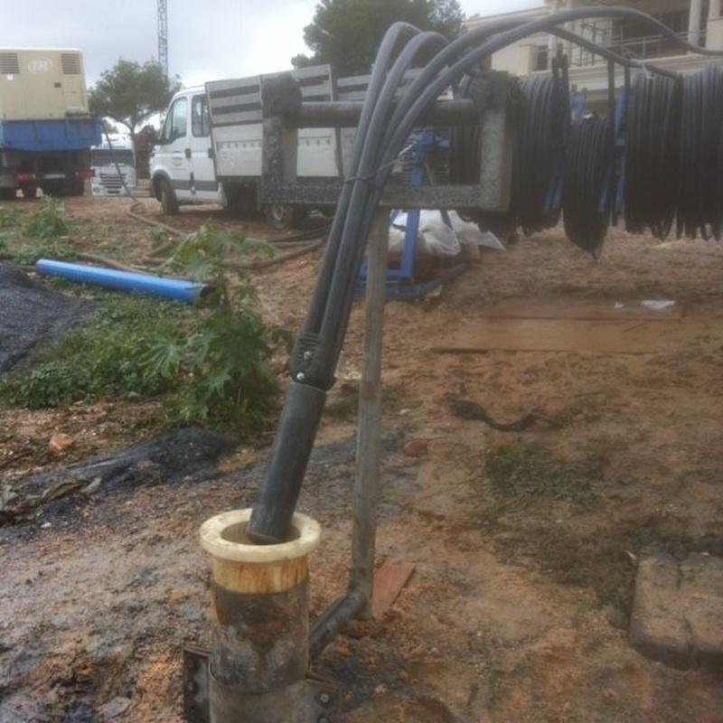 Perforaciones para geotermia: Servicios de Perfomar