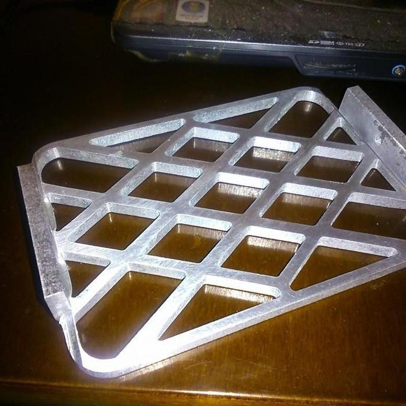 """Rejilla en aluminio para """"Snorkel"""" (Automoción)"""