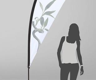 Bandera LÁGRIMA Estándar