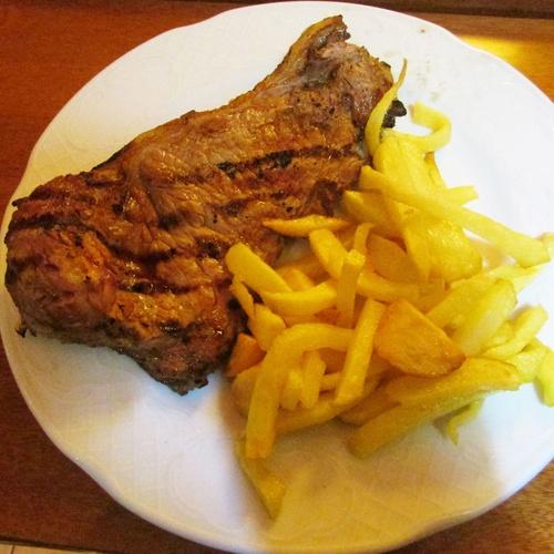 Cocina casera y de mercado. Carnes a la brasa