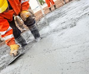 Venta de hormigón y otros materiales de construcción
