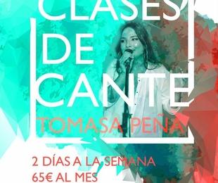 Clases de cante con Tomasa Peña Santiago