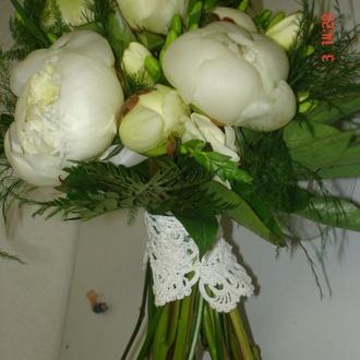 Peonias blancas