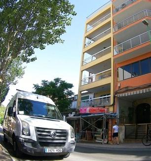 Rehabilitación integral de fachada, trabajos en altura