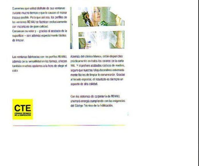 Ventana de PVC THERMO DESING 70: Servicios de Ventanas Arsan