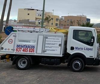 Localización de tuberías y arquetas ocultas: Servicios de Desatascos Mario López