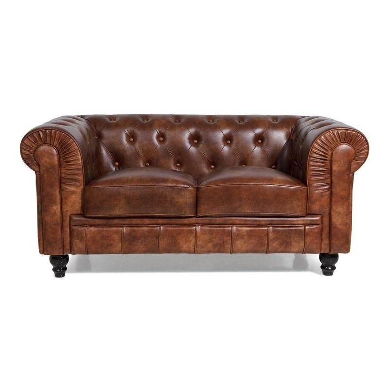 Variedades de sillones. Sofá Chester Biplaza Vintage: Productos de Constan
