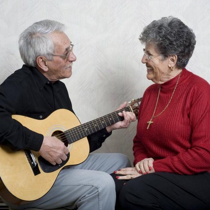 Beneficios de la musicoterapia en los ancianos