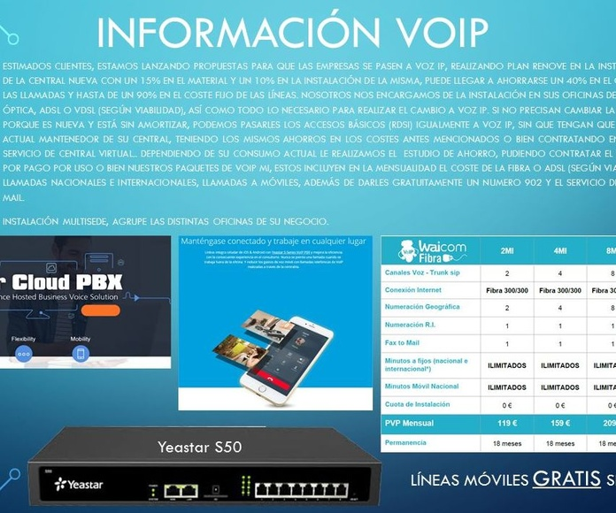 Ahorre con Voz IP