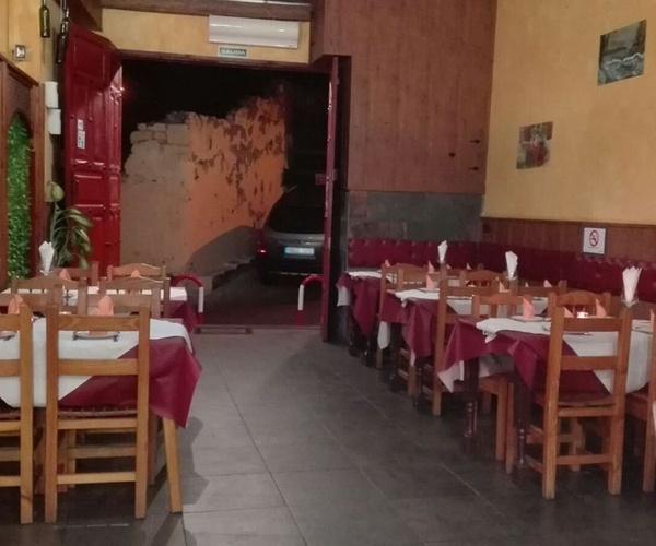 Interior de nuestro restaurante en Las Palmas