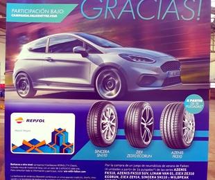 """Oferta neumáticos Falken  """" Campaña Falken le da las gracias"""" en Samar Neumáticos - Gandía"""
