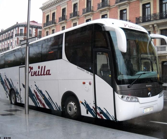 Celebraciones y eventos: Servicios de Autocares Pinilla, S.L.