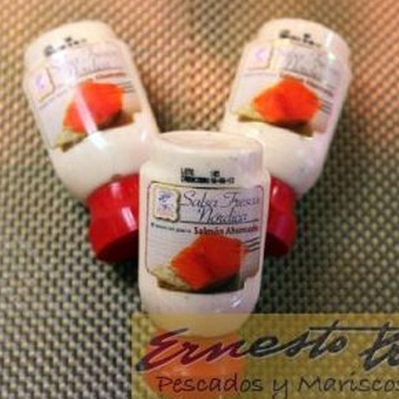 Salsa fresca nórdica: Productos de Ernesto Prieto