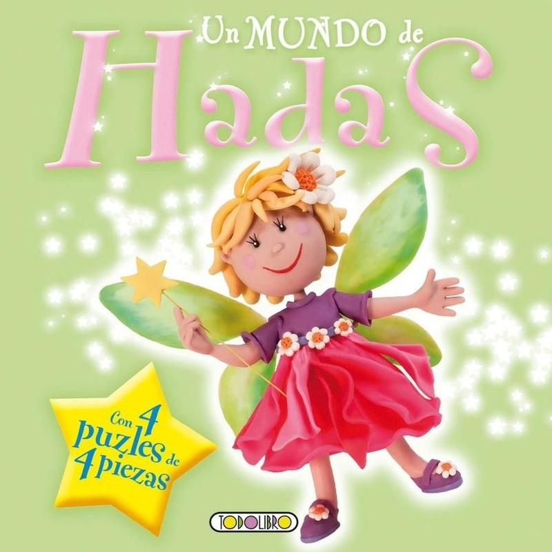 UN MUNDO DE HADAS (LIBRO-PUZLE)