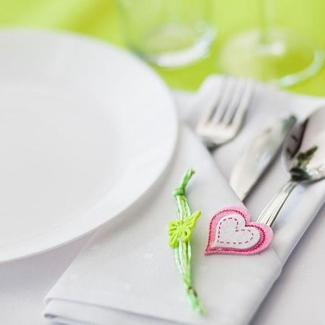 El menú de la comunión y los niños