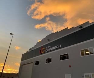 Acondicionamiento acústico y decorativo, oficinas Grupo Decoman - Cartagena MURCIA.