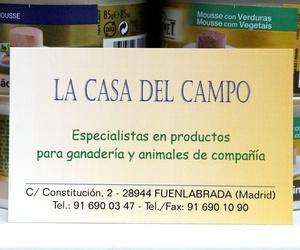 Galería de Tiendas de animales en Fuenlabrada |      La Casa del Campo