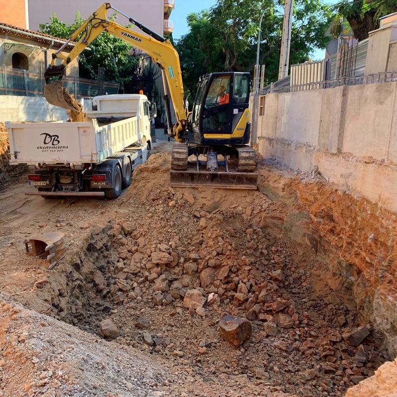 Excavacion sant cugat
