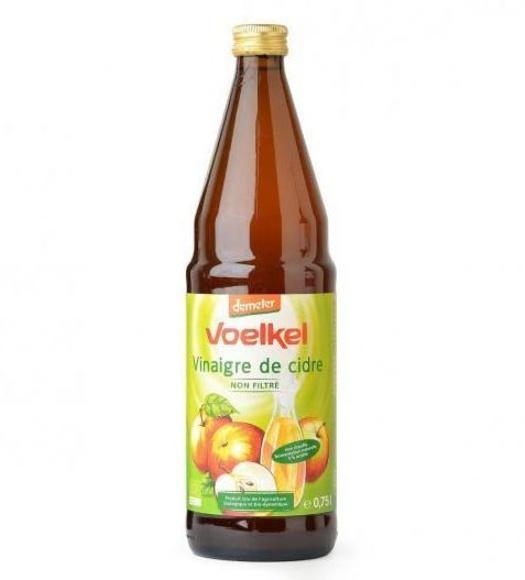 Vinagre de manzana no filtrado (0,75 l) VOELKEL: Catálogo de La Despensa Ecológica