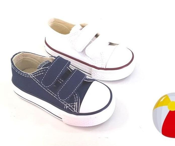 Mod:loneta zapato velcro.Del 20 al 29