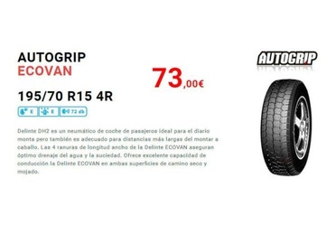 Neumáticos 195-70-R15
